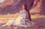 Woman Who Dreamed of White Wolf